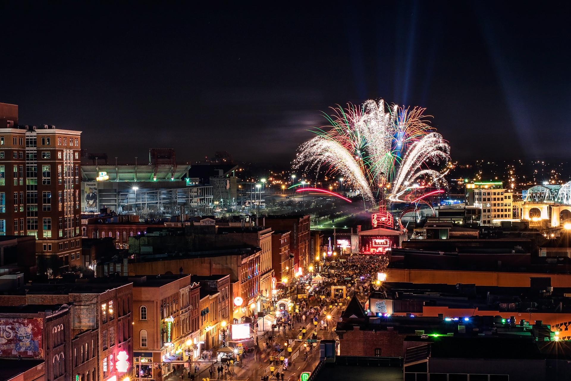 Nashville Nightline with Fireworks